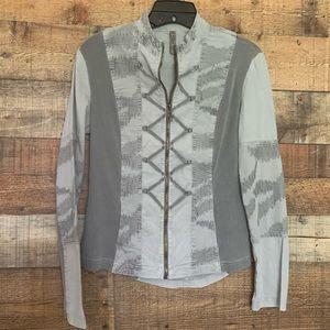 XCVI grey jacket, size small